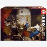 Jigsaw puzzle 8000 pcs - The Spinners, Diego Velazquez (by Educa)