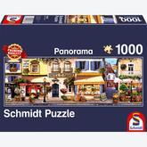 Jigsaw puzzle 1000 pcs - Walking in Paris - Panorama (by Schmidt)
