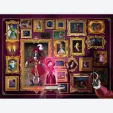 Jigsaw puzzle 1000 pcs - Villainous Captain Hook - Disney (by Ravensburger)