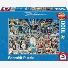Jigsaw puzzle 1000 pcs - Hollywood - Renato Casaro (by Schmidt)