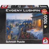 Jigsaw puzzle 1000 pcs - Romantic Night in Paris - Eugene Lushpin (by Schmidt)