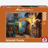 Jigsaw puzzle 1000 pcs - Alley at Lake Como - Sam Park (by Schmidt)