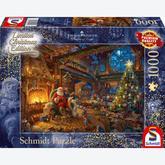 Jigsaw puzzle 1000 pcs - Santa Claus and His Elves - Thomas Kinkade (by Schmidt)