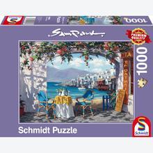 Jigsaw puzzle 1000 pcs - Rendez Vous in Mykonos - Sam Park (by Schmidt)