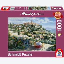 Jigsaw puzzle 1000 pcs - St. Paul de Vence - Sam Park (by Schmidt)