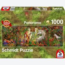Jigsaw puzzle 1000 pcs - Magic Forest - Ciro Marchetti (by Schmidt)