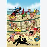99 pcs - Jommeke - Summerfun (by Puzzelman)