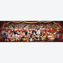 Jigsaw puzzle 1000 pcs - Disney Orchestra - Panorama Puzzle - Disney (by Clementoni)
