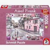Jigsaw puzzle 1000 pcs - Assaf Frank - Romantic Travel (by Schmidt)