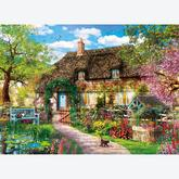 Jigsaw puzzle 1000 pcs - The Old Cottage - High Quality Collection (by Clementoni)