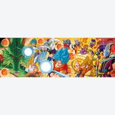 Jigsaw puzzle 1000 pcs - Dragon Ball Super - Panorama Puzzle - Panorama (by Clementoni)
