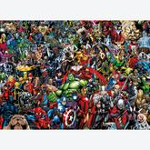 1000 pcs - Marvel - Impossible Puzzle - Marvel (by Clementoni)