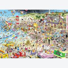 Jigsaw puzzle 1000 pcs - Mike Jupp - I Love Summer - Mike Jupp (by Gibsons)