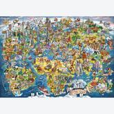 Jigsaw puzzle 1000 pcs - Maria Rabinky - Wonderful World (by Gibsons)