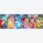 Jigsaw puzzle 1000 pcs - Disney Princess - Panorama Puzzle - Disney (by Clementoni)