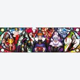 Jigsaw puzzle 1000 pcs - Disney Villains - Panorama Puzzle - Disney (by Clementoni)