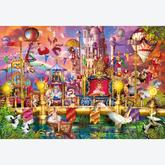 Jigsaw puzzle 2000 pcs - The Circus - High Quality Collection (by Clementoni)