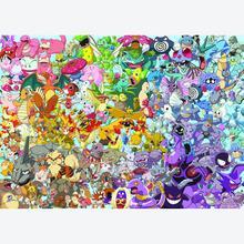 Jigsaw puzzle 1000 pcs - Pokemon Challenge - Cartoon (by Ravensburger)