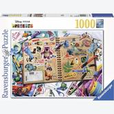 Jigsaw puzzle 1000 pcs - Disney Pixar Scrapbook - Disney (by Ravensburger)