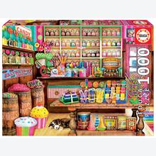 Jigsaw puzzle 1000 pcs - The Candy Shop - Genuine (by Educa)