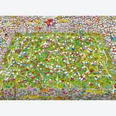 Jigsaw puzzle 1000 pcs - The Match - Mordillo (by Clementoni)