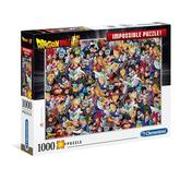 Jigsaw puzzle 1000 pcs - Dragon Ball Super, Impossible Puzzle - Cartoon (by Clementoni)