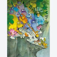 Jigsaw puzzle 500 pcs - The Surrender - Mordillo (by Clementoni)