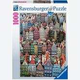 Jigsaw puzzle 1000 pcs - Gdansk, Poland (by Ravensburger)