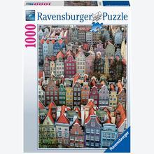Jigsaw puzzle 1000 pcs - Gdansk, Poland (by Ravensburger)