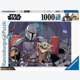 Jigsaw puzzle 1000 pcs - Star Wars The Mandalorian - Star Wars (by Ravensburger)