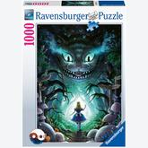 Jigsaw puzzle 1000 pcs - Adventures with Alice in Wonderland - Disney (by Ravensburger)