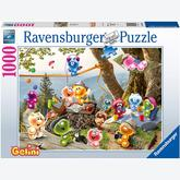 Jigsaw puzzle 1000 pcs - Gelini on a picnic (by Ravensburger)