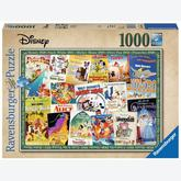Jigsaw puzzle 1000 pcs - Disney Vintage Movie Posters - Disney (by Ravensburger)