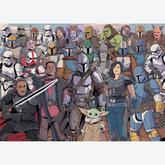 Jigsaw puzzle 1000 pcs - Star Wars Mandalorian - Star Wars (by Ravensburger)