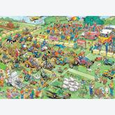 Jigsaw puzzle 1000 pcs - Lawn Mower Race - Jan van Haasteren (by Jumbo)
