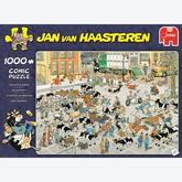 Jigsaw puzzle 1000 pcs - The Cattle Market - Jan van Haasteren (by Jumbo)