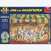 Jigsaw puzzle 1000 pcs - Acrobat Circus - Jan van Haasteren (by Jumbo)