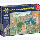 Jigsaw puzzle 2000 pcs - The Art Market - Jan van Haasteren (by Jumbo)