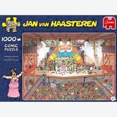 Jigsaw puzzle 1000 pcs - Eurosong Contest - Jan van Haasteren (by Jumbo)