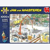Jigsaw puzzle 1000 pcs - Almost Ready? - Jan van Haasteren (by Jumbo)