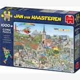 Jigsaw puzzle 1000 pcs - Island Retreat - Jan van Haasteren (by Jumbo)
