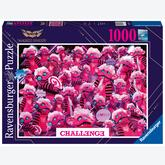 Jigsaw puzzle 1000 pcs - Masked Singer Monsters (by Ravensburger)