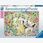 Jigsaw puzzle 1000 pcs - Cat Friendship (by Ravensburger)