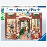 Jigsaw puzzle 1500 pcs - Wordsmiths Bookshop (by Ravensburger)