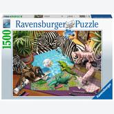 Jigsaw puzzle 1500 pcs - Origami Adventure (by Ravensburger)