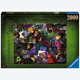 Jigsaw puzzle 2000 pcs - Villainous, All Villains - Disney (by Ravensburger)