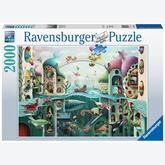 Jigsaw puzzle 2000 pcs - If Fish Could Walk (by Ravensburger)