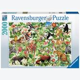 Jigsaw puzzle 2000 pcs - Jungle (by Ravensburger)