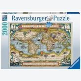 Jigsaw puzzle 2000 pcs - Around the World (by Ravensburger)