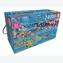 Jigsaw puzzle 24000 pcs - Life, The Greatest Puzzle - Genuine (by Educa)